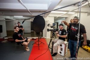 Shooting Chris Weidman